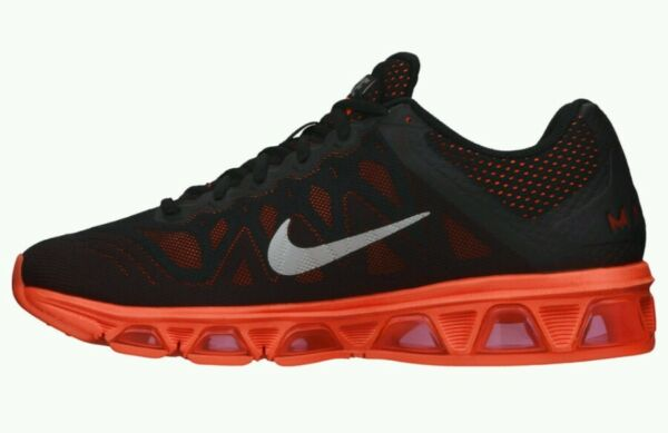 Nike Air Max Tailwind 7 Running Shoes Men's US 7.5 Black Hyper Crimson NEW