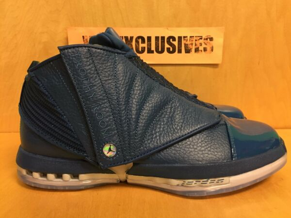 Nike Air Jordan 16 Retro XVI Trophy Room Exclusive French Blue 854255-416