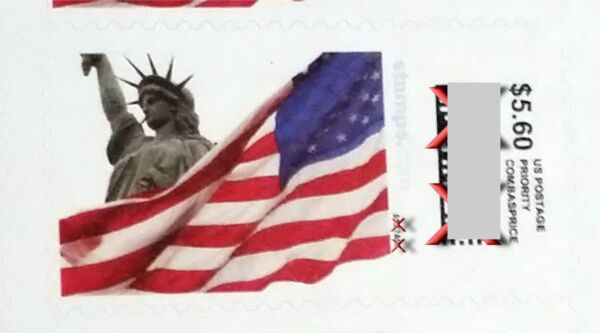 US Mail Postage 24 pieces $5.60 Stamps, face value $134.40