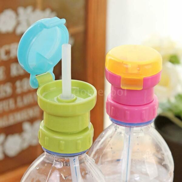 Reusable Spill-Proof Infant Sippy Cup Straw Lids With Soft Silicone Sucker K1S7