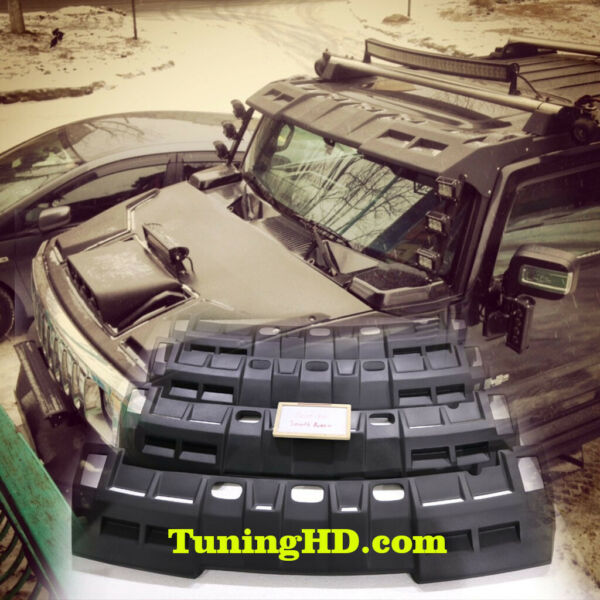visor on the roof for Hummer H2 $540.00