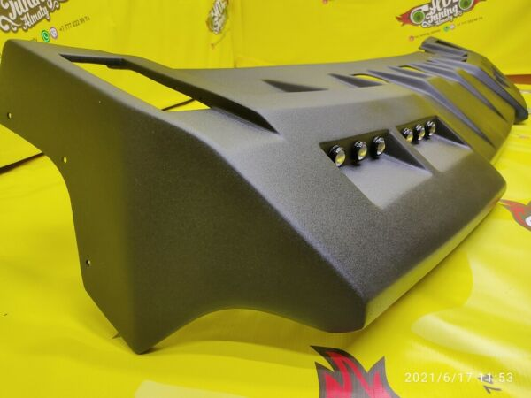 Visor on the roof for Hummer H2 with DRL $600.00
