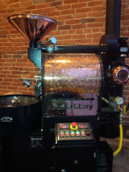 5 Kilo OZTURK Commercial Coffee Roaster New In stockBlackcopper ship from NY