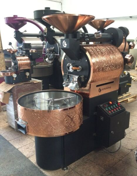 10 Kilo OZTURK Commercial Coffee Roaster New In stockBlackcopper ship from NY
