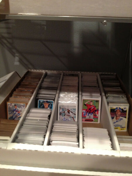 Lot (10 Assorted Signed Baseball Cards Autographs Collection From My Store CHEAP