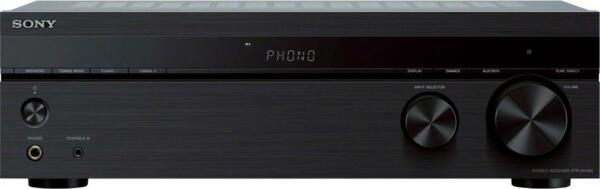Open-Box Excellent: Sony - 2.0-Ch. Stereo Receiver with Bluetooth - Black