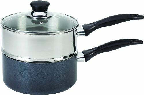 Tfal Double Boiler Pot Stainless Steel With Phenolic Handle Nonstick Cookware 3Q $55.10
