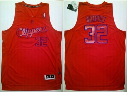 Adidas Men's NBA Los Angeles Clippers #32 Blake Griffin Player Swingman Jersey