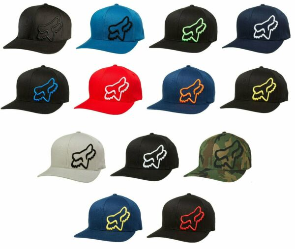 Fox Racing Flex 45 Flexfit Hat -ALL SIZESCOLORS- Adult Mens Cap Hat Lid