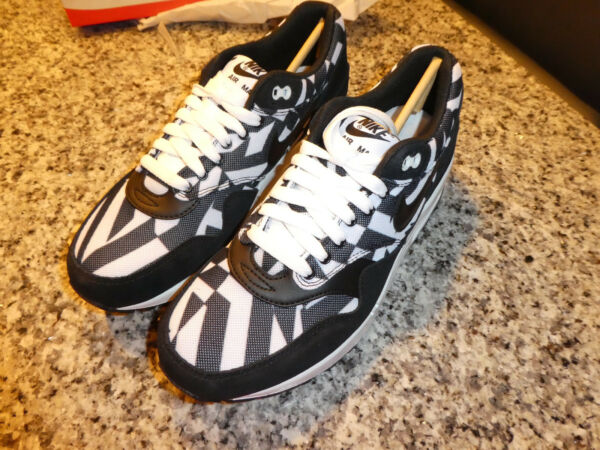 Nike Air Max 1 GPX shoes mens new684174 100 sneakers white black