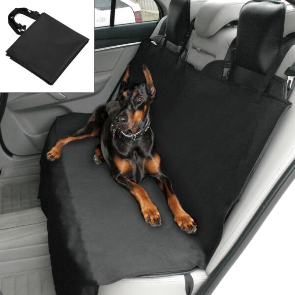 55quot; Dog Seat Cover Oxford Waterproof Hammock Dog Car Vehicle Back Seat Protector $18.99