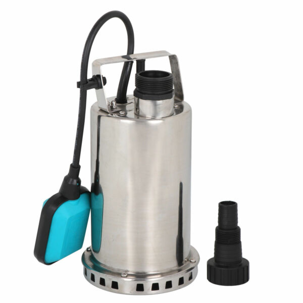 3000GPH 1HP Submersible Pump 750W Dirty Water Sump WAutomatic Float Switch