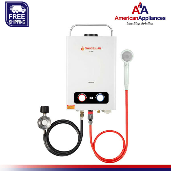 Camplux Pro 1.58 GPM Propane Outdoor Tankless Hot Water Heater $189.99