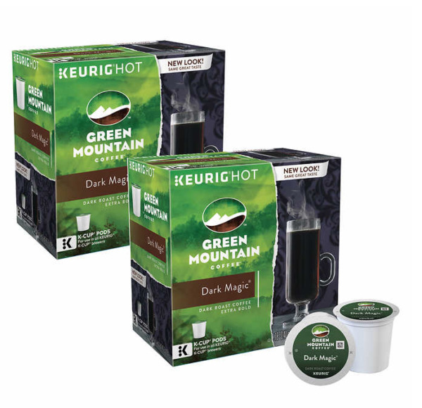 Dark Magic 180 K-cups Green Mountain Coffee Keurig Pods Dark Roast