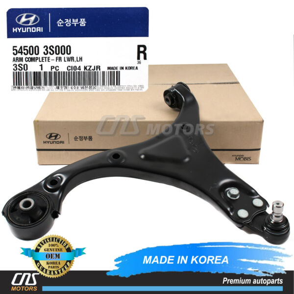 GENUINE Control Arm Lower FRONT DRIVER for 11-13 Hyundai Sonata 545003S000 ⭐⭐⭐⭐⭐