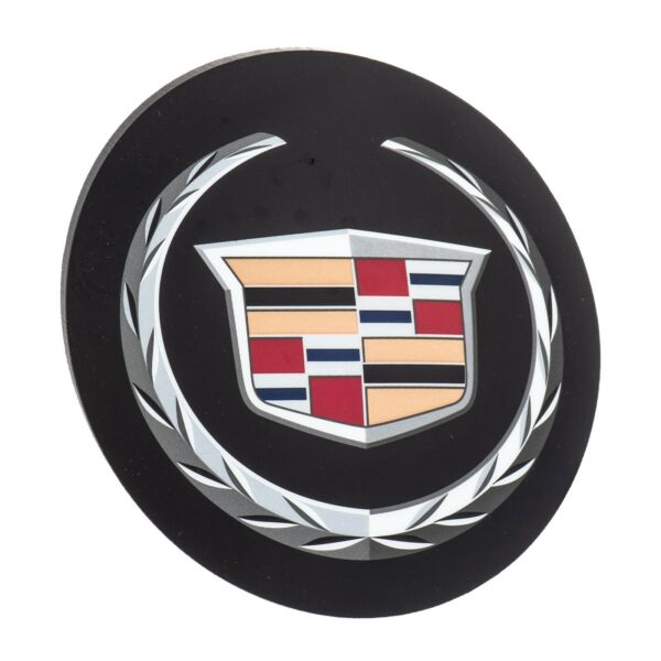 OEM NEW Front Grille Wreath and Crest Emblem Badge 06-11 DTS 05-07 STS 25737138