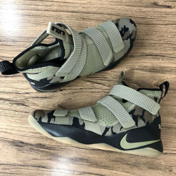 A498 Nike Lebron Soldier XI 897644-200 Mens Basketball Sneakers Size 8 NEW