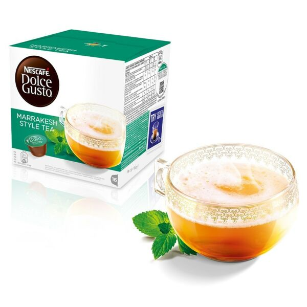 NEW!!! Dolce Gusto Nescafe Tea PodsCapsules - 2 warm teas to chose