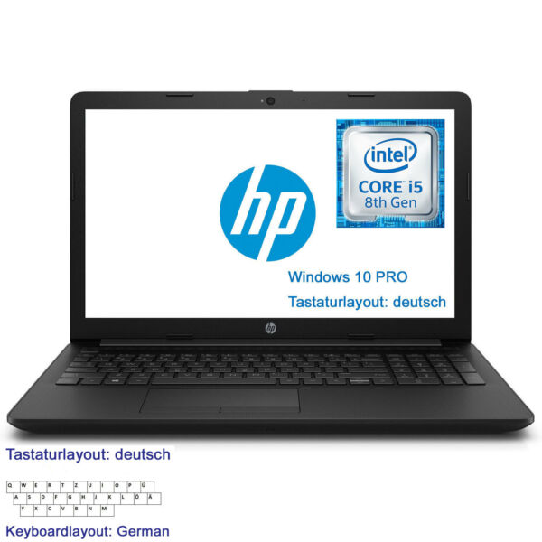 Power Notebook HP 15-da0103ng 15,6