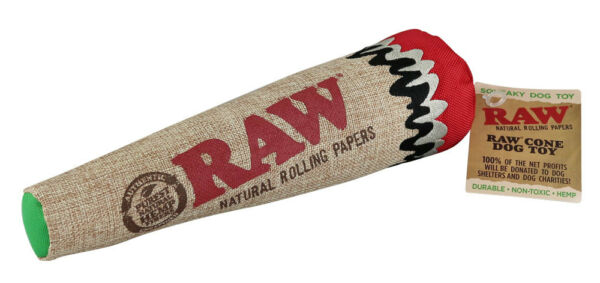 Raw Cone Dog Chew Toy - 12