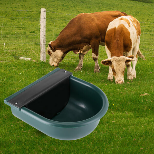 4L Large Automatic Bowl Water Trough Drinker Dispenser For Horse Sheep Feeder
