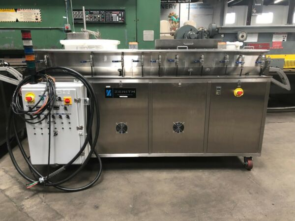 Zenith SSS-960 Ultrasonic Cleaner Strip Metal Parts Washer 2.5