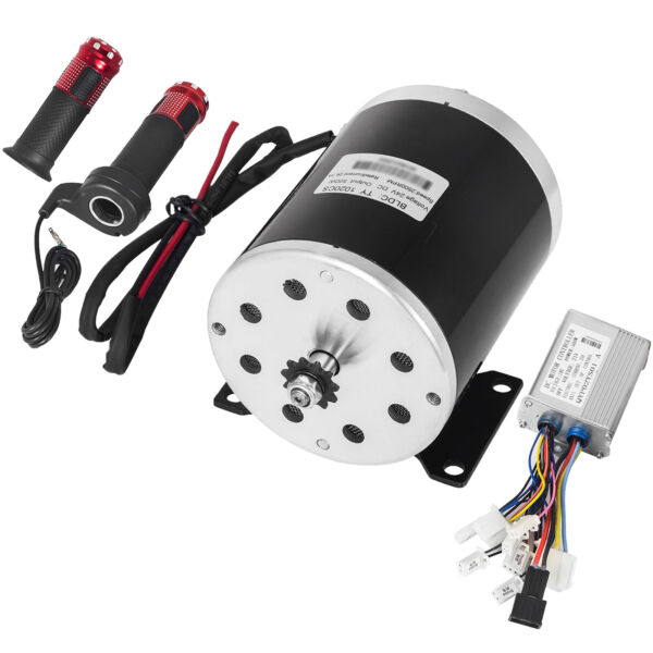 500 W Watt 24 V DC electric motor kit w speed controller &  Throttle