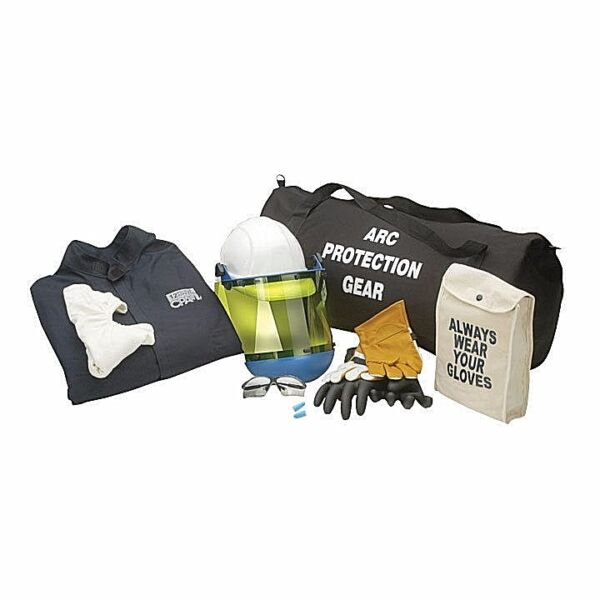 CHICAGO PROTECTIVE APPARE AG12-CV 12 CAL ARC FLASH  KIT COMPLETE WGLOVES. 2XL.