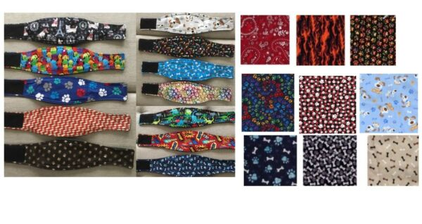 Male Dog Belly Band Wrap Choose Size from XS 4XL with Padding $4.50