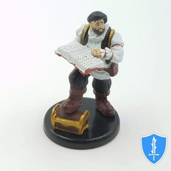 Volothamp Geddarm Volo Waterdeep Dragon Heist #40 Damp;D Rare Miniature