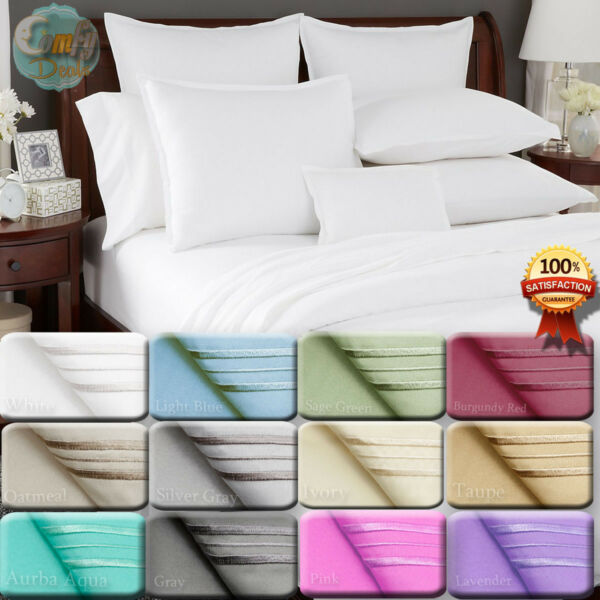 1800 Count Super Deluxe Hotel Quality 4 Piece Deep Pocket Bed Sheet Set $26.17