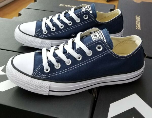 CONVERSE ALL STAR CHUCK TAYLOR LOW MEN'S NAVY M9697