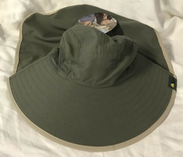 NWT adult unisex floppy hat Sun Protection Zone brand outdoor work sun blocking