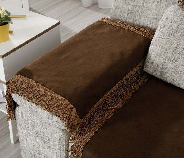 OctoRose Anti Slip Chenille Sofa Couch Cover Sectional Sofa Arm Back Covers $20.69