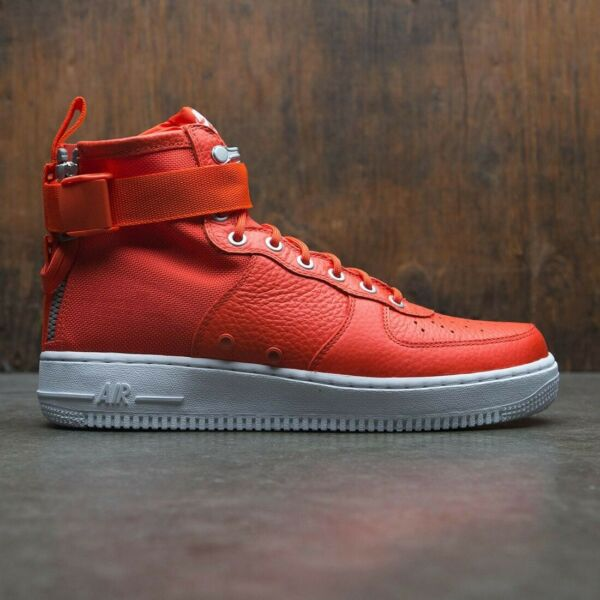 Nike SF 1 Special Field Air Force One Mid TEAM ORANGE 917753- 800 DOUBLE BOX 15