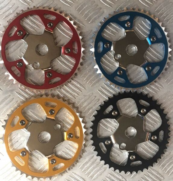 Alloy Steel Sprocket 44T 1 2quot;x1 8 Bicycle Chainring BMX Cruiser Bike 4 Colors $19.99