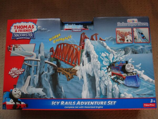THOMAS FRIENDS Trackmaster Sodor Snow Storm ICY RAILS ADVENTURE SET