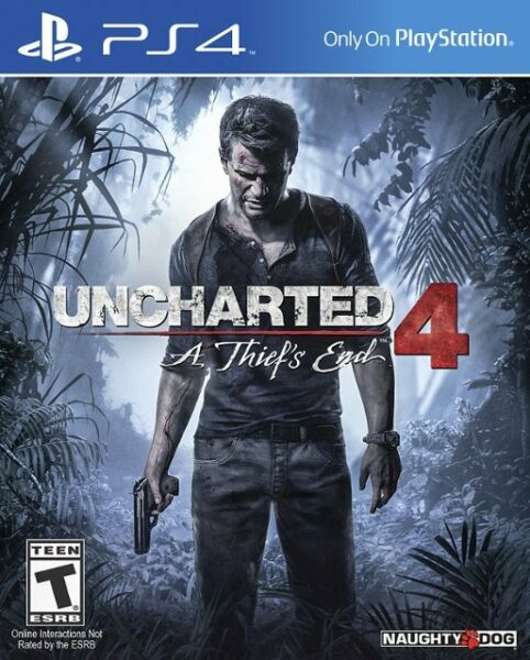 Uncharted 4: A Thief's End game for Playstation 4 (PS4)