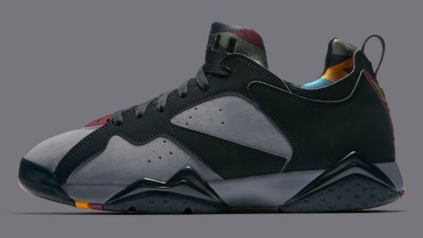 Nike Air Jordan VII 7 Low NRG size 10. Bordeaux. AR4422-034. Black Graphite.