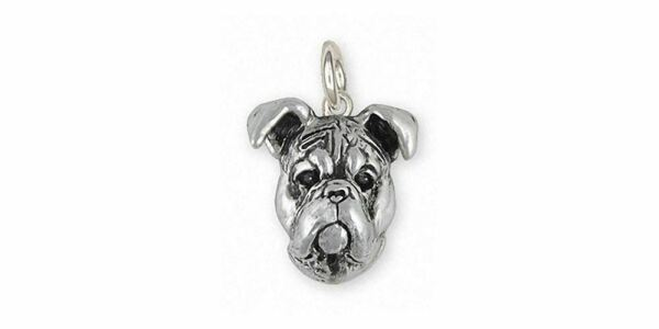 Boxer Jewelry Sterling Silver Handmade Boxer Charm BD32 C $85.99