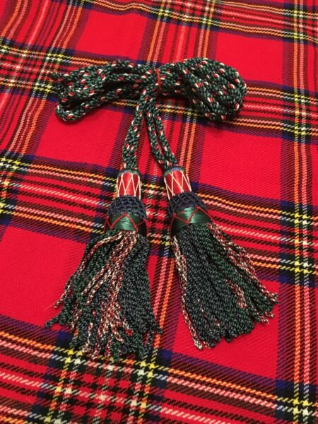 BAGPIPES DRONE CORD MACKENZIE/BAGPIPES SILK DRONE CORDS MULTI COLOURED/BAGPIPES