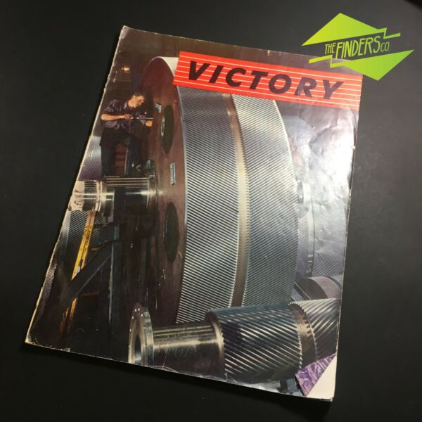 1944 'VICTORY' MAGAZINE USA OFFICE OF WAR INFORMATION PUBLICATION ROOSEVELT