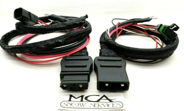 WESTERN FISHER SNOW PLOW BATTERY CABLE TRUCK amp; PLOW SIDE HARNESS 42014 42015