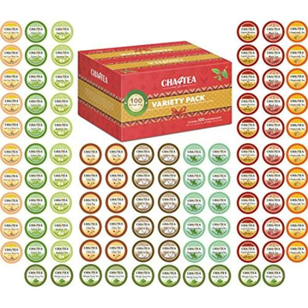 Tea Samplers 100-Count K Cups Variety Pack For Keurig K-Cup Brewers Multiple