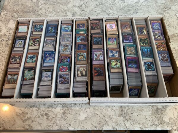 YUGIOH 50 Card Holographic Foil Collection Lot! Super, Ultra, Secrets! All Holos