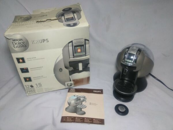 Nescafe Krups KP-2100 Dolce Gusto Pod Cup Coffee Maker-Works-Hot