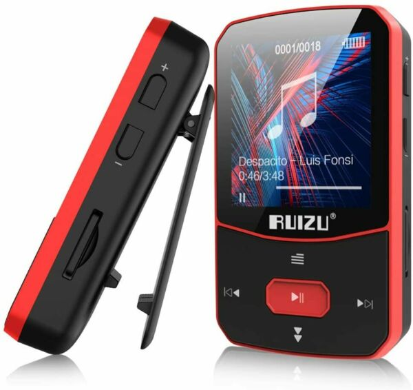 MP3 Player Portable Digital Bluetooth Metal 60 Hour Playback 8GB Voice Recorder