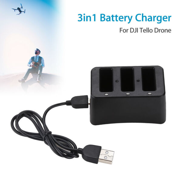 Smart Battery Charger USB Power Accessories For DJI Tello Drone RC Quadcopter