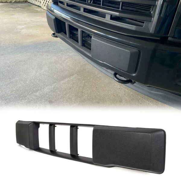 NEW Front Bumper Lower Grille Trim Panel Black for 2015-2017 Ford F150 F-150