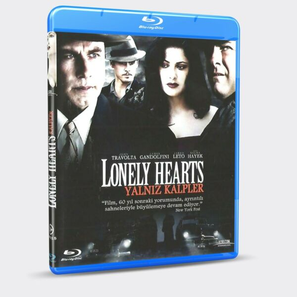 Lonely Hearts  John Travolta Salma Hayek Jared Leto BLU-RAY